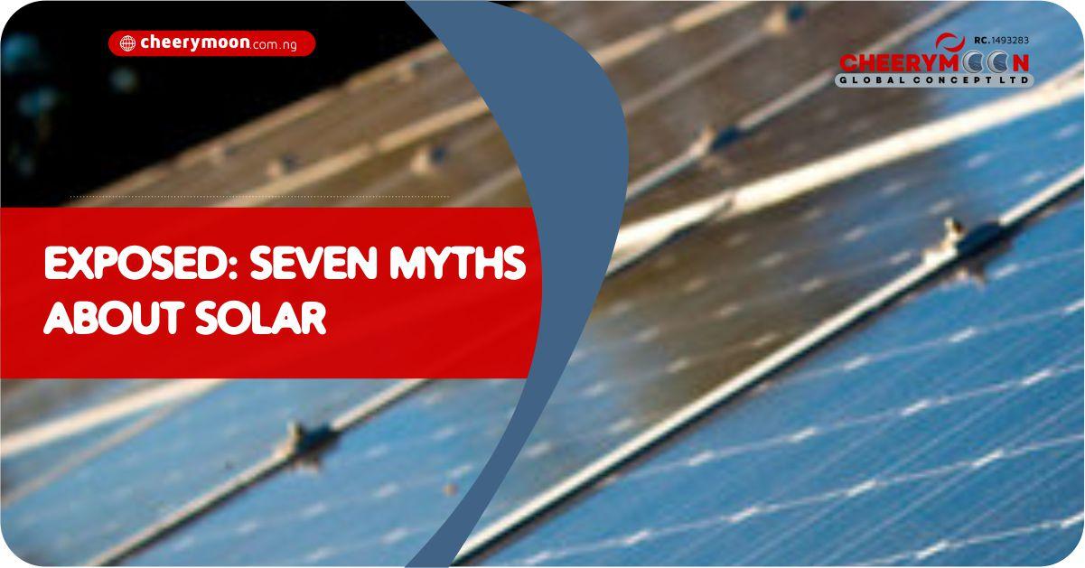 solar energy myths and facts