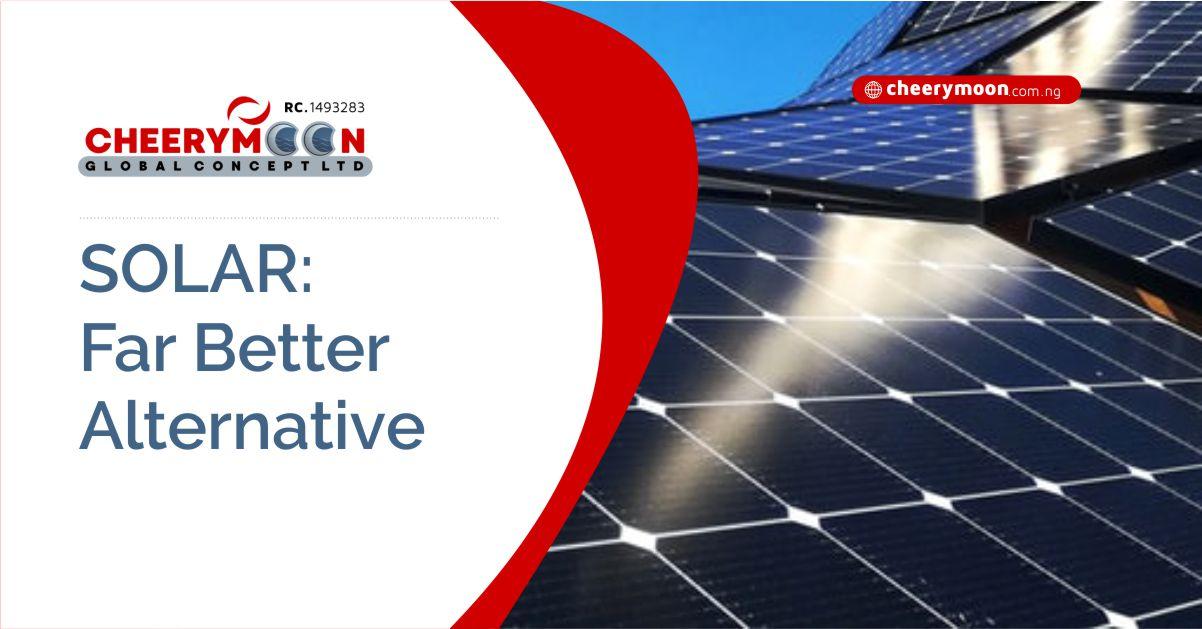 SOLAR- Far Better Alternative